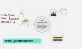 Políticas y Significados Conflictivos.