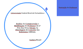 Análise da Compreensão e Mobilização do Professor do 3º Ano