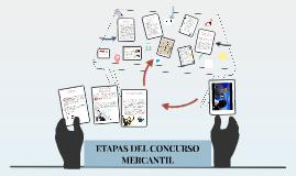 Copy of ETAPAS DEL CONCURSO MERCANTIL