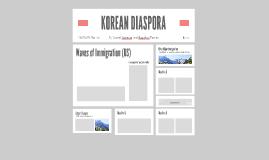 KOREAN DIASPORA