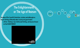 Enlightenment and Age of Reason