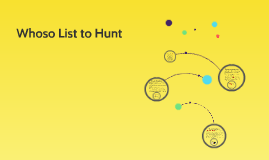 Copy of Whoso List to Hunt