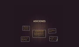 ADICIONES