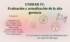 UNIDAD IV: