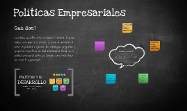 Copy of Políticas Empresariales