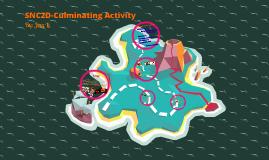SNC2D-Culminating Activity