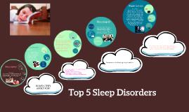 Top 5 Sleep Disorder