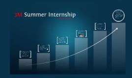 3M Summer Internship
