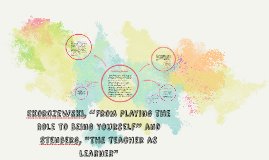 """Skorczewski, """"From Playing the Role to Being Yourself"""" and S"""