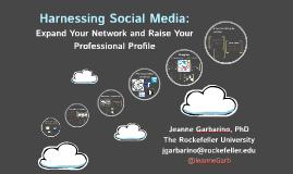Harnessing Social Media: