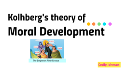 Kolhberg's theory of