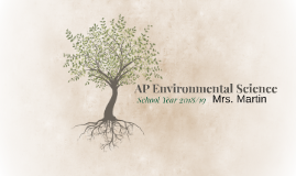 AP Environmental Science - AP Night