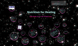 Nutrition for Healing