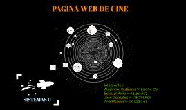 PAGINA WEB DE CINE