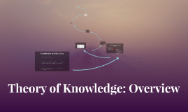 Copy of Theory of Knowledge: Overview