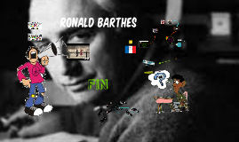 Ronald Barthes 1915-1980