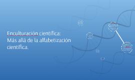 Enculturación científica