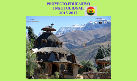 Copy of PROYECTO EDUCATIVO INSTITUCIONAL