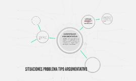 SITUACIONES PROBLEMA TIPO ARGUMENTATIVO