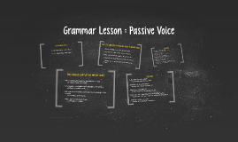Copy of WHAT IS PASSIVE VOICE ?