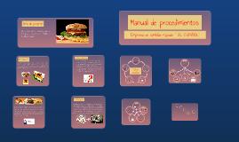 Copy of Elaboración de un manual de procedimientos