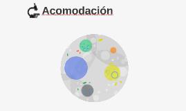 Acomodacion