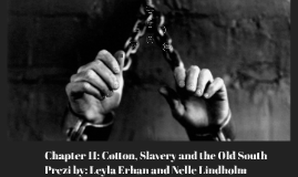 Chapter 11: Cotton, Slavery and the Old South