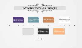 INTRODUCTION A LA LOGIQUE