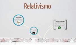 Copy of Relativismo
