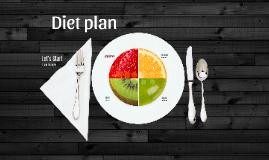 Diet Plan - Prezi template