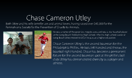 Professional Baseball Player: Chase Cameron Utley