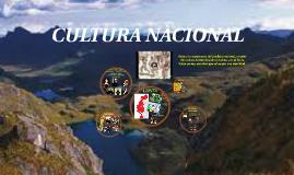 CULTURA NACIONAL