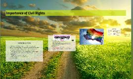 Civil Rights and  Amendments