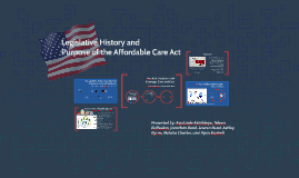 Legislative History and