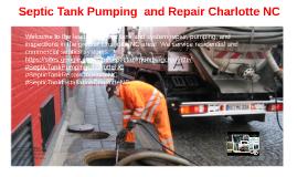 Septic Tank Pumping and Repair Charlotte NC