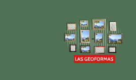 LAS GEOFORMAS