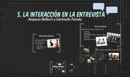 Copy of La interacción en la entrevista