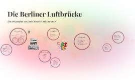 Copy of Die Berliner Luftbrücke