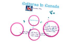 Culture In Canada