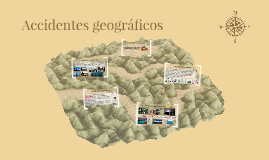 Accidentes geográficos