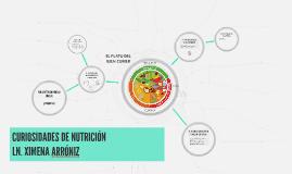 CURIOSIDADES DE NUTRICIÓN