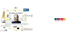 El trabajo de Galileo