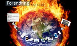 Drivhusffekten/Global opvarmning