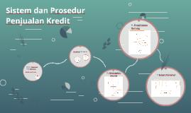 Sistem dan Prosedur Penjualan Kredit