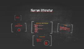Norrøn litteratur