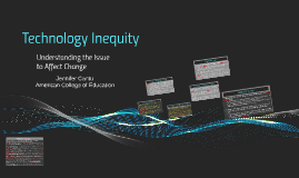 Technology Inequity