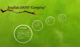 """Analisis DAFO """"Camping"""""""