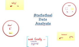 Statistical Data Analysis Introduction 2017