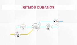 RITMOS CUBANOS