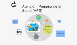 Copy of Atencion  Primaria de la Salud